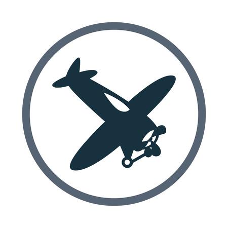 toy plane: Toy plane icon