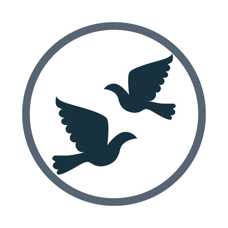 wedding: Wedding pigeon icon