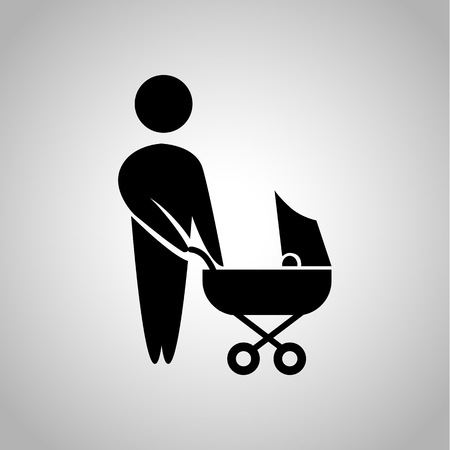 kin: Father with child icon