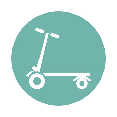 kinship: Scooter icon Illustration