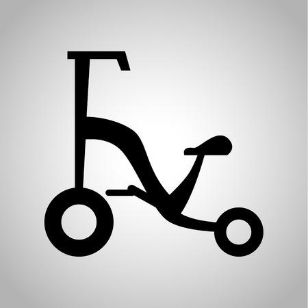 kin: Child bike icon