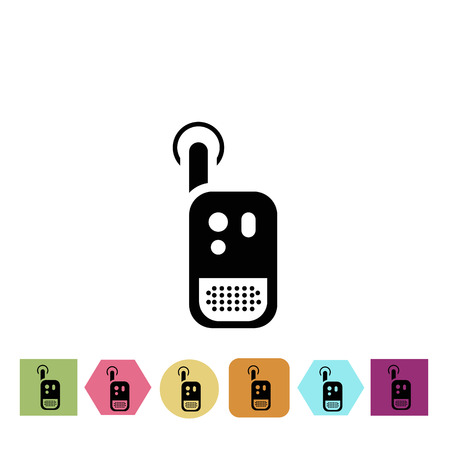 kinship: Baby radio icon Illustration