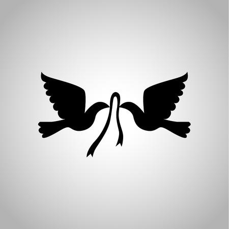 kinship: Wedding pigeon icon