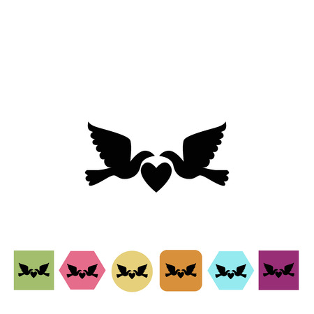 kin: Wedding pigeon icon