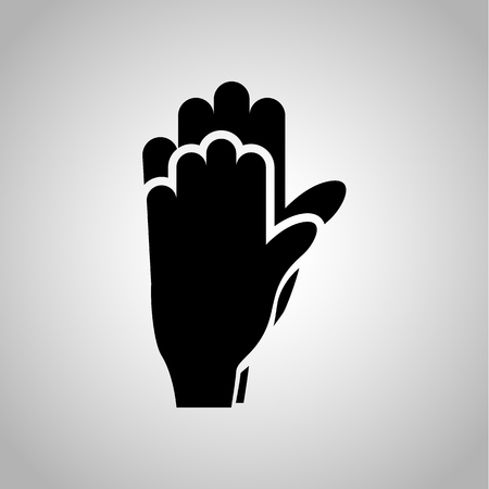 kinship: Hand touch icon