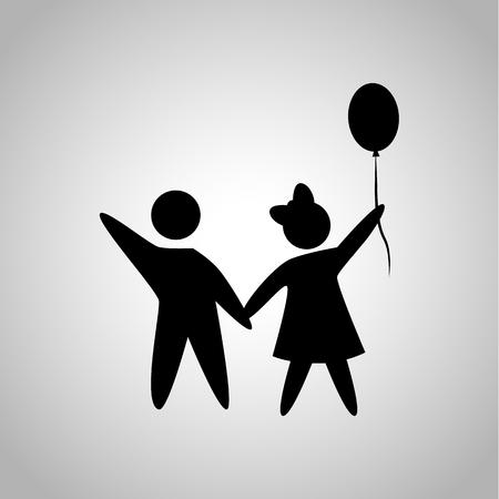 kin: Boy and girl icon