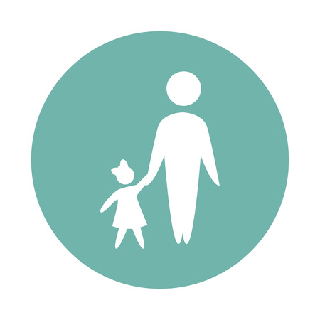 father: father with child icon