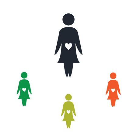kin: Pregnant woman icon