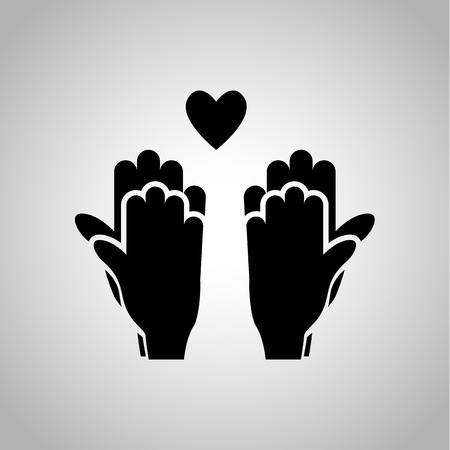 touch: Hand touch icon