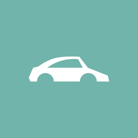 spare part: Car body icon Illustration