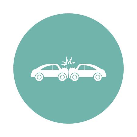 자동차 충돌 아이콘