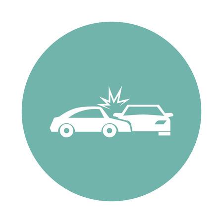 breakage: Cars crash icon