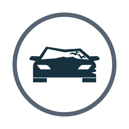 breakage: Car crash icon