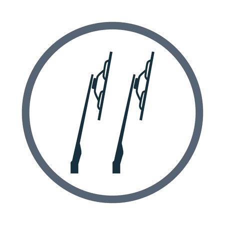 wiper: Car wipers icon