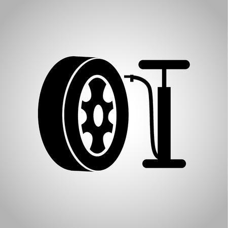 Wheel pump service icon