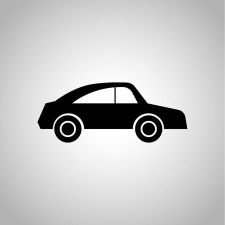 the car: car icon Illustration