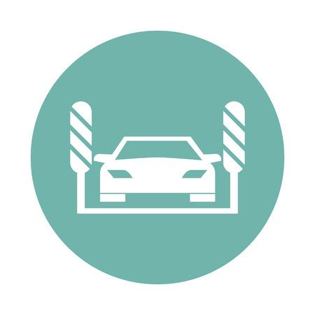 auto lavado: icono de lavado de autos