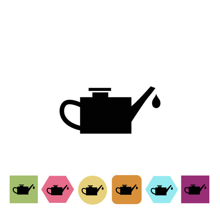 grease: Machine oil icon Illustration