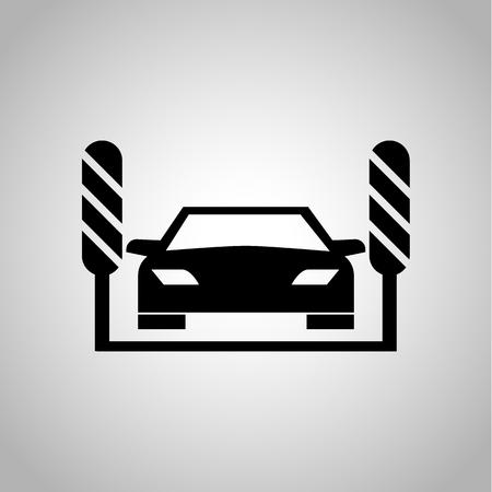 autolavado: icono de lavado de autos
