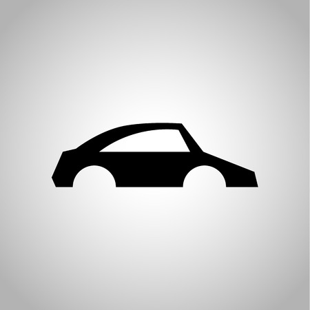spare part: Car body icon Illustration