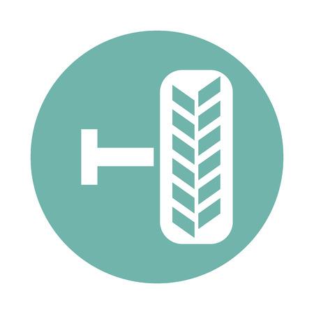 treads: Car wheel icon
