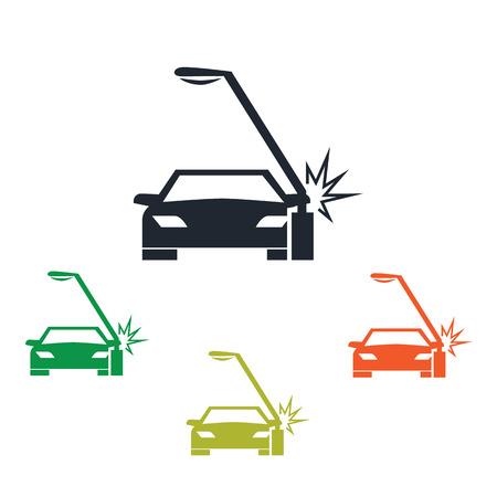 breakage: Car crash icon