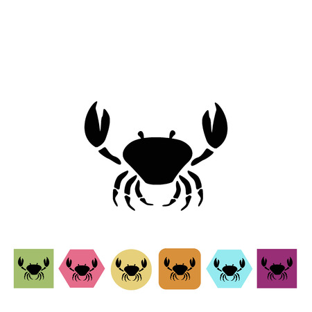 arthropod: Crab icon