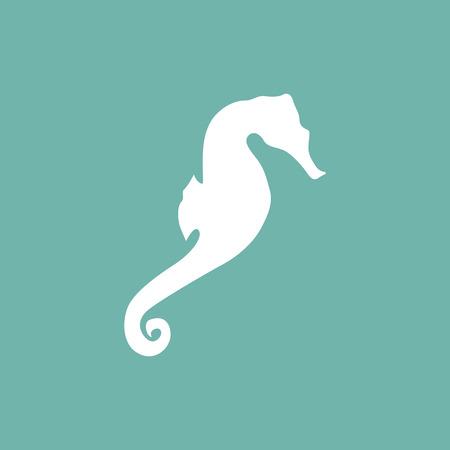 Sea paard pictogram