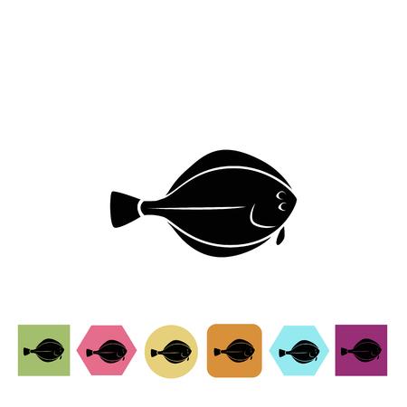 fisheries: Flounder icon