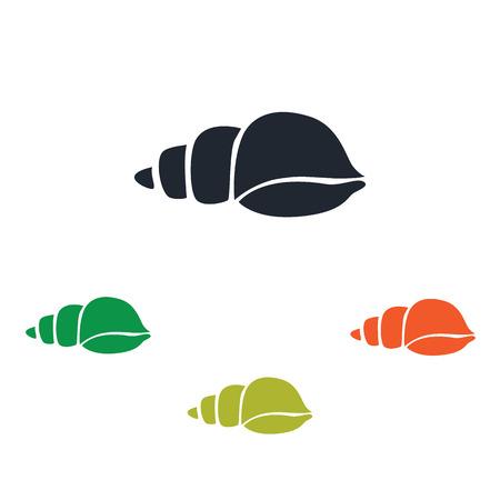 scallops: Sea shell icon
