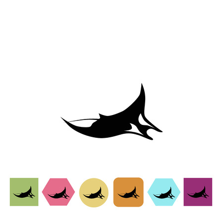 Manta Symbol Vektorgrafik