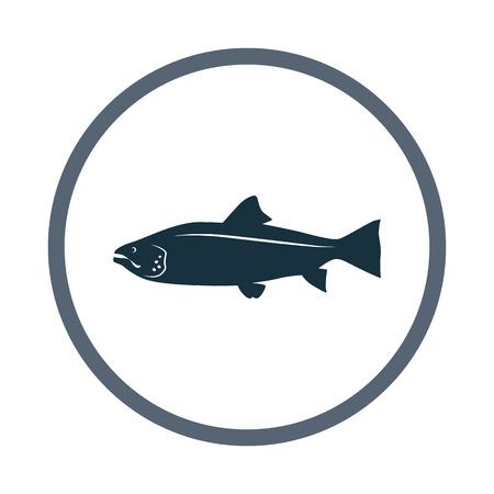 fisheries: Salmon icon