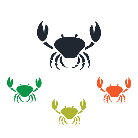 arthropods: Crab icon