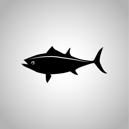 fisheries: Tuna icon Illustration