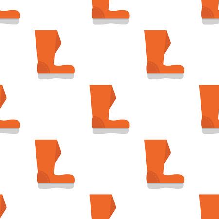 wellingtons: Color garden boot icon
