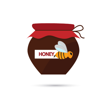 honey pot: Honey pot color icon