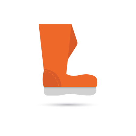 wellingtons: Color garden boot icon