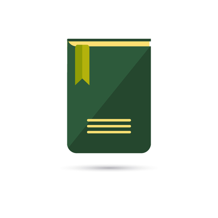 diary: Color illustration of diary icon