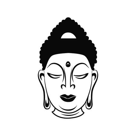 buddha statue: Buddha illustration