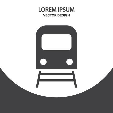 subway: Subway icon on the background Illustration