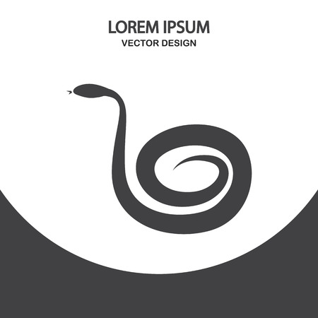 terrarium: Snake icon on the background