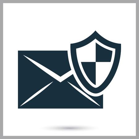 correspondence: Protección de icono de la correspondencia en el fondo