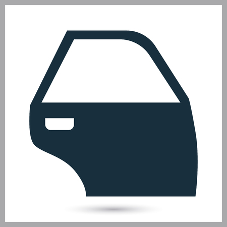 car exhaust: Car exhaust icon on the background Illustration