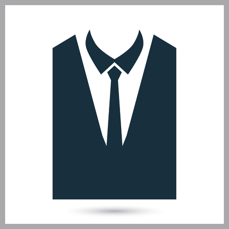 formal attire: Formal attire icon on the background