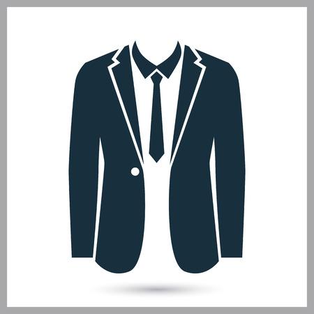 attire: Formal attire icon on the background