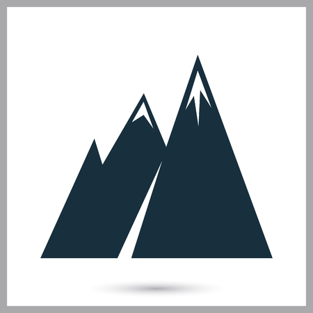 conquer: Mountains icon on the background