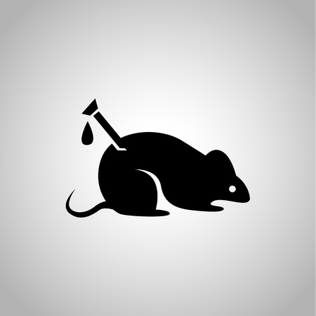 Experiment over the mouse icon on the background