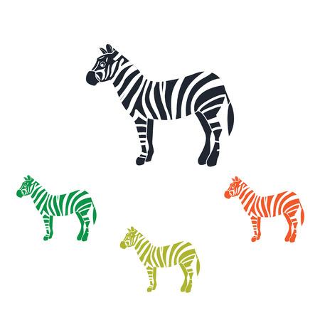 hoofed: Zebra icon