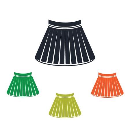 short skirt: Female short skirt icon
