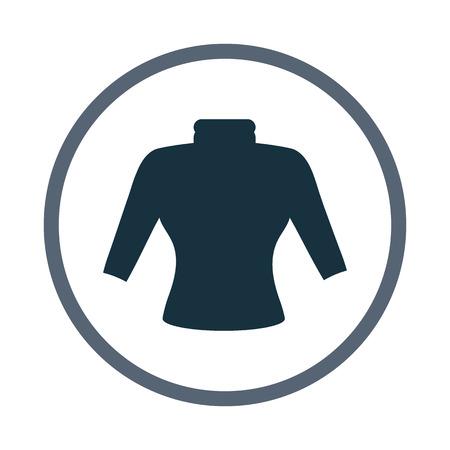 turtleneck: Female turtleneck icon